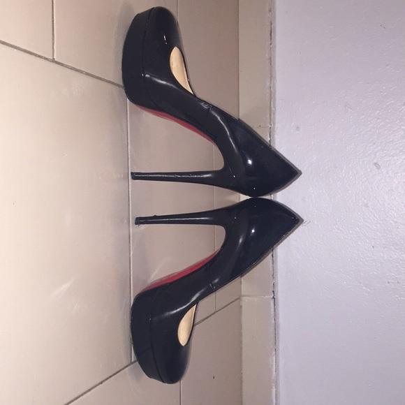 7f9adfcc4127 Christian Louboutin Shoes - Christian Louboutin  Dirditta Platform Pumps  BLACK